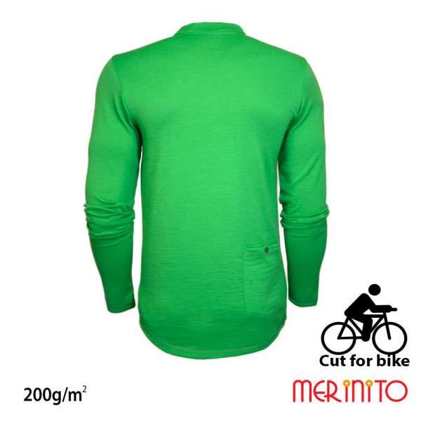 Bluza barbati Merinito Cut For Bike 200g 100% lana merinos