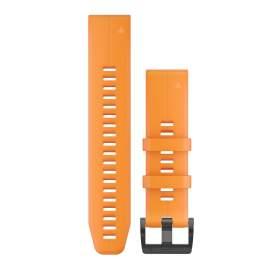 Curea Garmin Quickfit 22 Silicon portocaliu