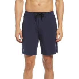 Short On Hybrid Shorts Navy