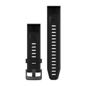 Curea Garmin Quickfit 20 silicon negru fenix 5S/6S