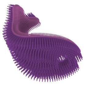Burete antibacterian moale din silicon pentru baie - Innobaby - Purple