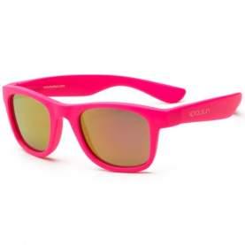 Ochelari de soare pentru copii - Koolsun Wave - Neon Pink, 1-5 ani