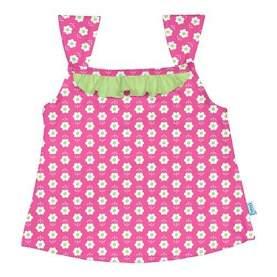 Bluza cu filtru UV - iPlay - Hot Pink Daisy, 24 luni