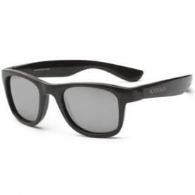 Ochelari de soare pentru copii - Koolsun Wave - Black Onyx, 1-5 ani