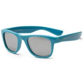 Ochelari de soare pentru copii - Koolsun Wave - Cendre Blue, 1-5 ani
