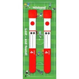 Bratara reutilizabila de identificare pentru copii infoband - set 2 bratari - Japonia