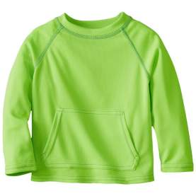 Bluza tehnica filtru UV 50+ Breatheasy Stay Cool - Green Sprouts by iPlay - Lime, S/M