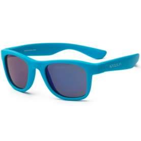 Ochelari de soare pentru copii - Koolsun Wave - Neon Blue, 1-5 ani