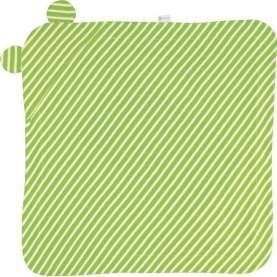 Set prosop si manusa din bumbac organic - Keptin Jr - Huggy Green