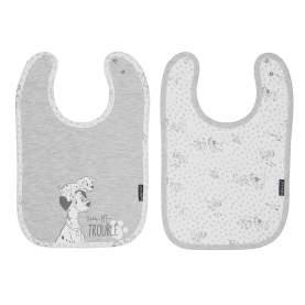 Set 2 bavetele reglabile Bebe Jou - Licenta Disney - 101 Dalmatians