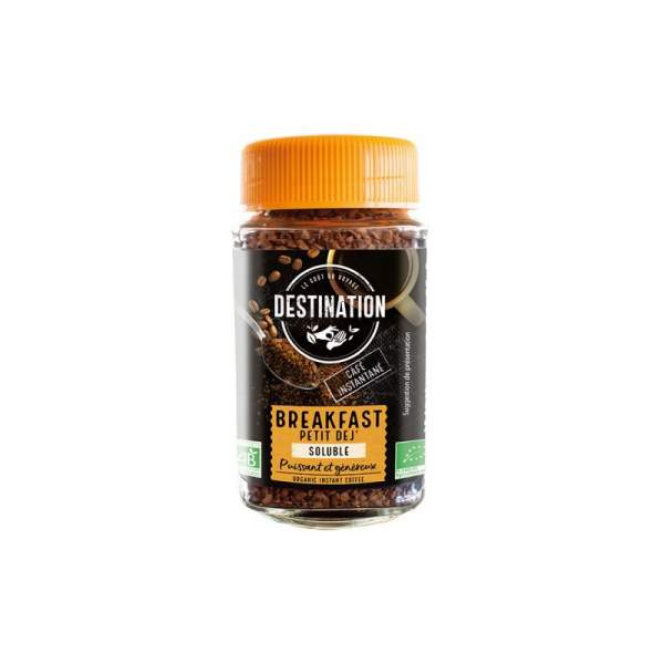 ECO DESTINATION CAFEA LIOFILIZATA BREAKFAST 100G