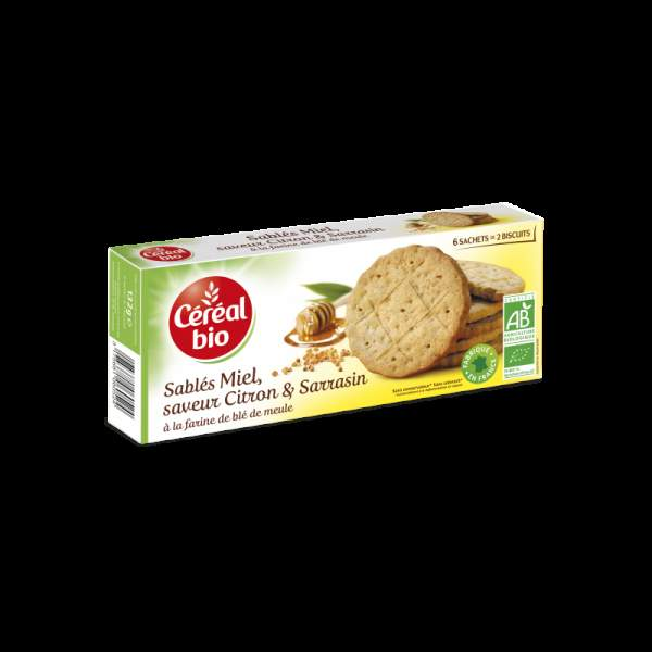 CEREAL BIO BISCUITI MIERE - LAMAIE, 132 g
