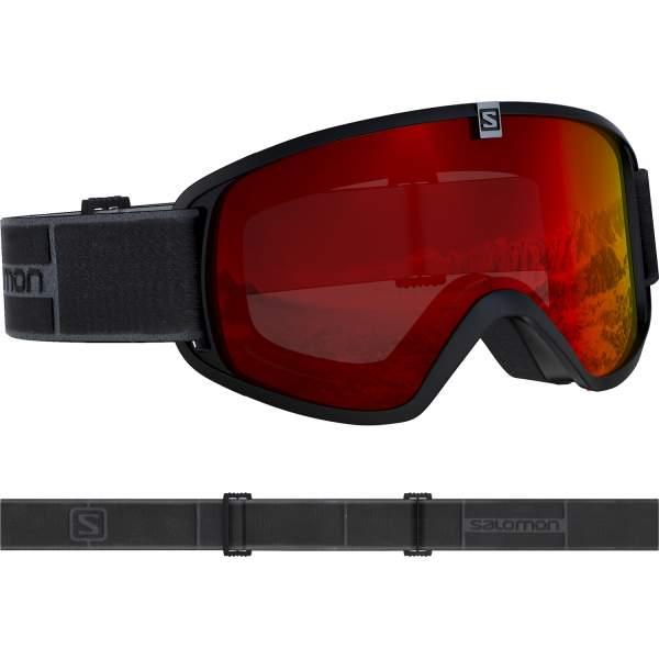 Ochelari Ski Salomon Trigger Black/Univ. Mid Red Copii