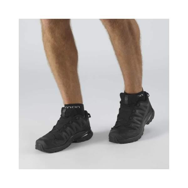 Pantofi Alergare Barbati XA PRO 3D v8 GTX Negru