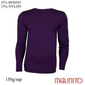 Bluza barbati Merinito 150g 87% lana merinos 13% nylon