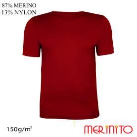 Tricou barbati Merinito 150g 87% lana merinos 13% nylon