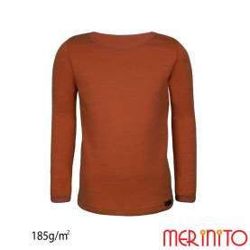 Bluza copii Merinito 185g 100% lana merinos