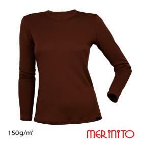 Bluza dama Merinito 150g 100% lana merinos
