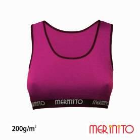 Bustiera Merinito 200g 100% lana merinos