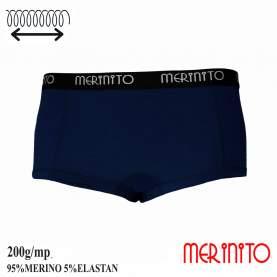 Lenjerie dama Merinito Hot Pants 200g 95% lana merinos 5% elastan