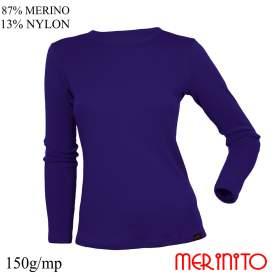 Bluza dama Merinito 150g 87% lana merinos 13% nylon
